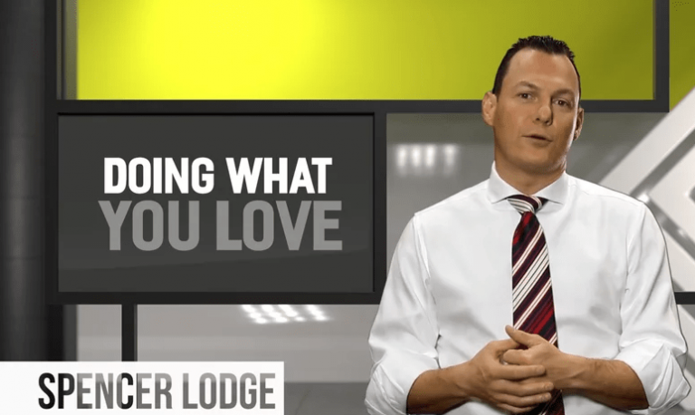 "Members Only Video – ""Doing What You Love"" by Spencer Lodge"