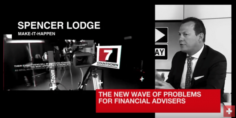 Problems Facing Financial Advisors – Spencer Lodge