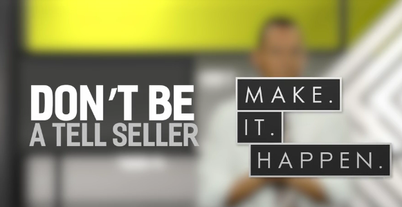 "Members Only Video – ""Don't Be A Tell Seller"" by Spencer Lodge"
