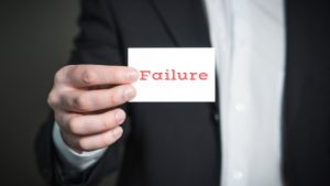 WHY FAILURE IS ESSENTIAL FOR SUCCESS: