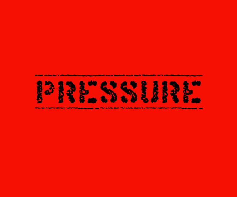IF YOU CAN'T HANDLE PRESSURE THEN YOU SHOULDN'T BE IN SALES!