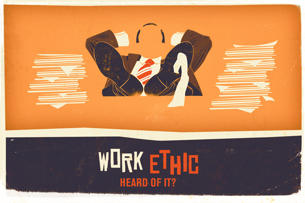 IS THERE REALLY A SHORTCUT TO WORK ETHIC?