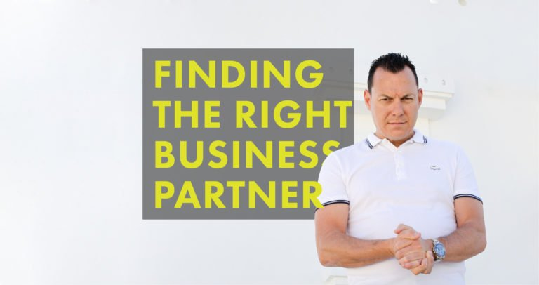 FINDING THE RIGHT BUSINESS PARTNER